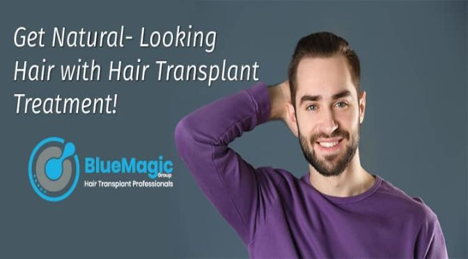 A hair transplant can give you permanent, natural-looking results